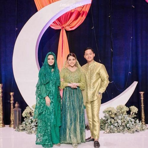 Krisdayanti bersama Aurel dan Azriel Hermansyah. (Foto: Imagenic)