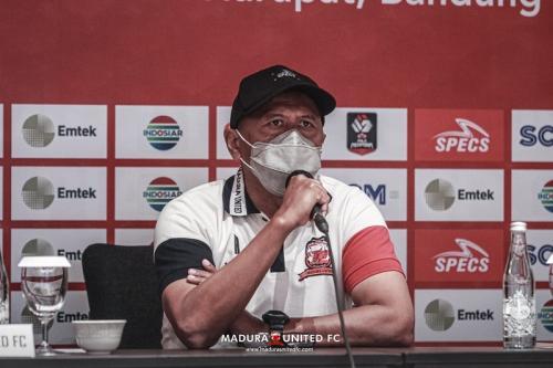 Pelatih Madura United Rahmad Darmawan (Foto: Madura United)