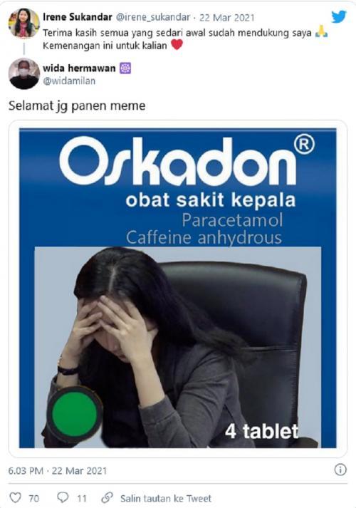 Meme GM Irene
