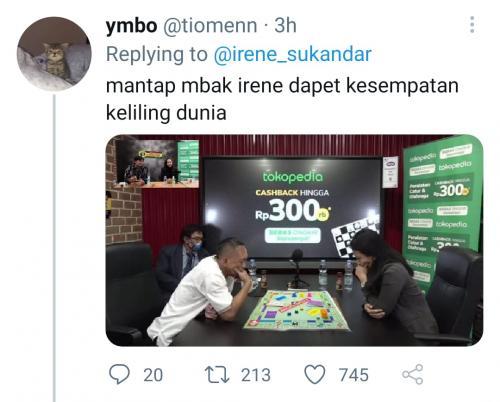 Meme Dewa Kipas vs WGM Irene Kharisma