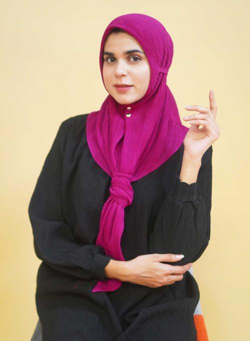Hijab Plisket