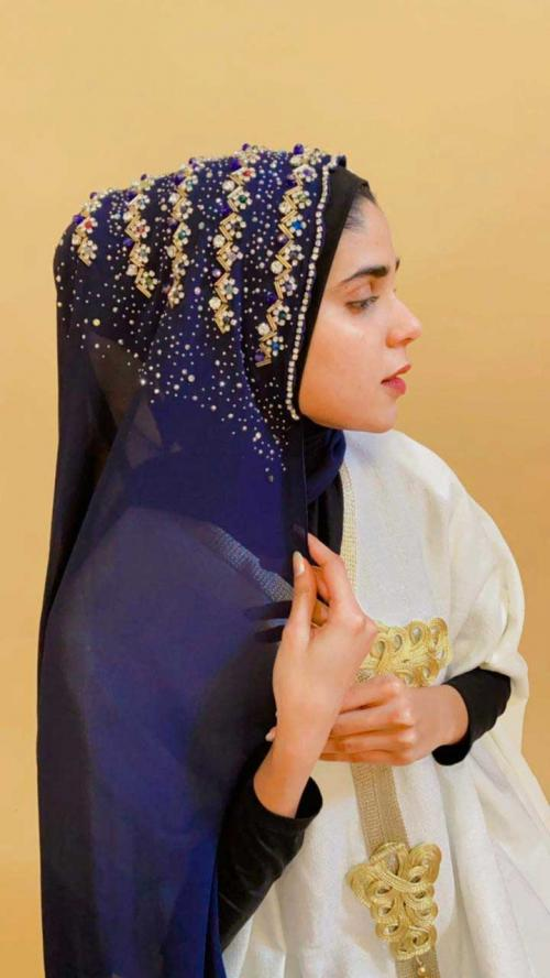 Hijab Bando Payet