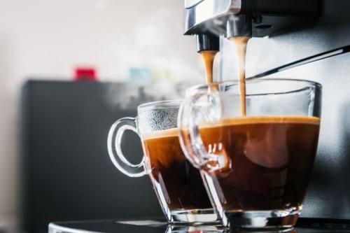 Ilustrasi minuman kopi.