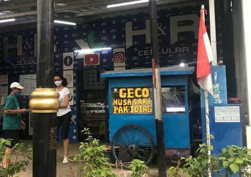 Geco makanan lezat khas Cianjur. (Foto: Instagram @sekitarcianjur)