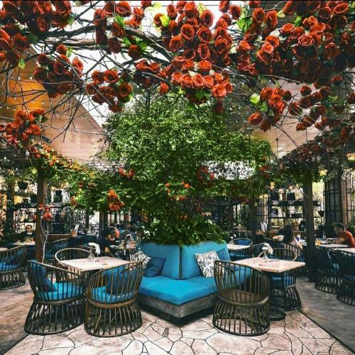 Ilustrasi restoran.