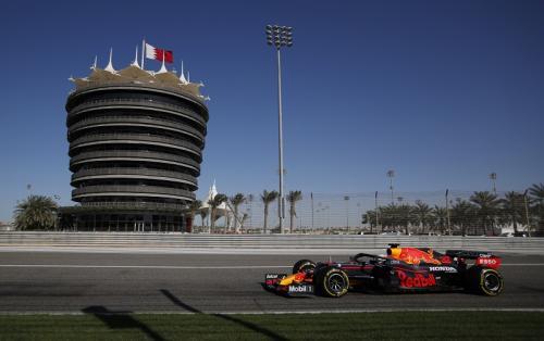 Tes Pramusim F1 2021 digelar di Bahrain (Foto: Reuters/Hamad I Mohammed)