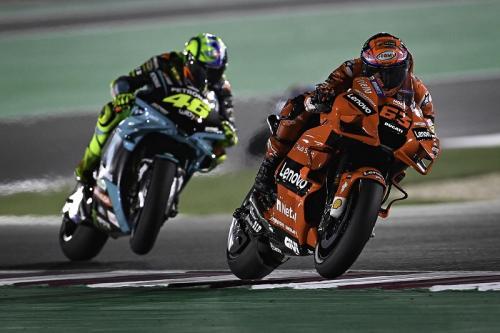 Valentino Rossi dan Francesco Bagnaia