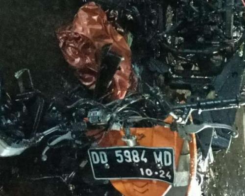 Motor pelaku bom bunuh diri