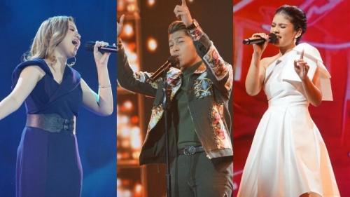Top 3 Indonesian Idol Special Season.