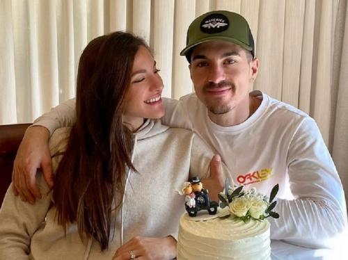 Maverick Vinales dan Raquel