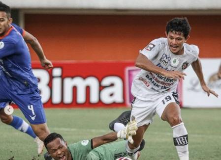 Bali United vs Persiraja