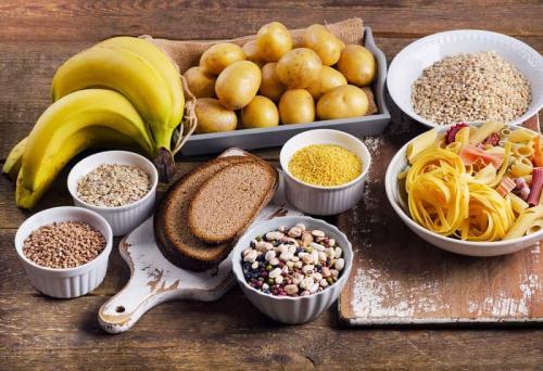 Makanan sumber karbohidrat. (Foto: Shutterstock)