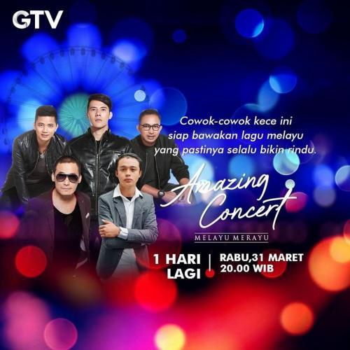Amazing Concert Melayu Merayu. (Foto: GTV)