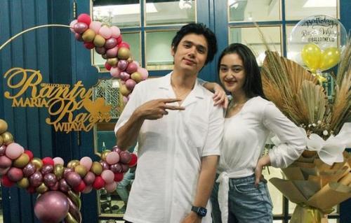 Ranty Maria dan Rayn Wijaya. (Foto: Instagram/@rantymaria)