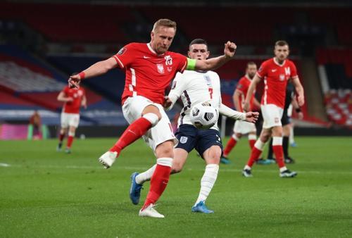 Inggris vs Polandia