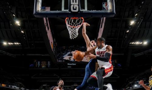 Miami Heat sukses menaklukkan Indiana Pacers (Foto: NBA)