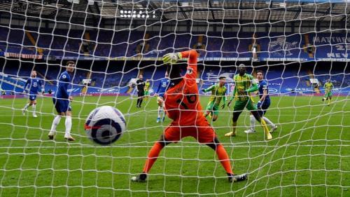 Chelsea disikat WBA 2-5 (Foto: Reuters)