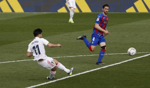 Suasana laga Madrid vs Eibar