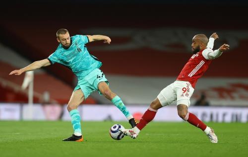 Suasana laga Arsenal vs Liverpool