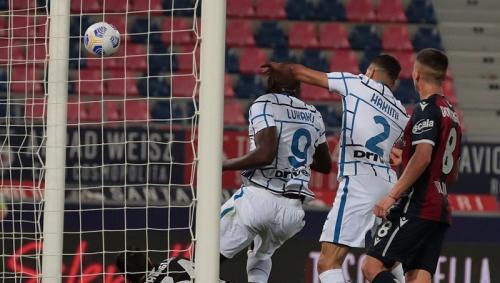 Romelu Lukaku mencetak gol semata wayang (Foto: Twitter/@Inter_en)