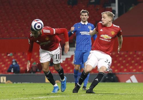 Mason Greenwood mencetak gol kemenangan (Foto: Reuters/Phil Noble)