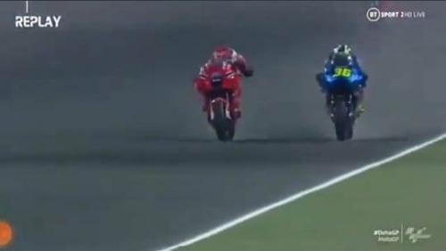 Momen Mir dan Miller senggolan di tikungan terakhir MotoGP Doha 2021