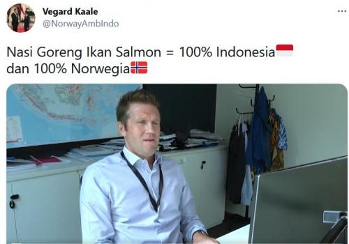 Dubes Norwegia untuk Indonesia