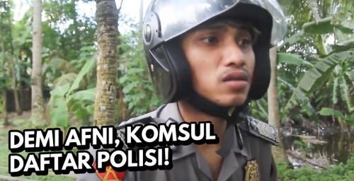Film Pendek Ingin Jadi Polisi.