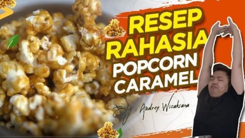 Audrey Wicaksana membagikan resep rahasia popcorn caramel. (Foto: YouTube Audrey Wicaksana)