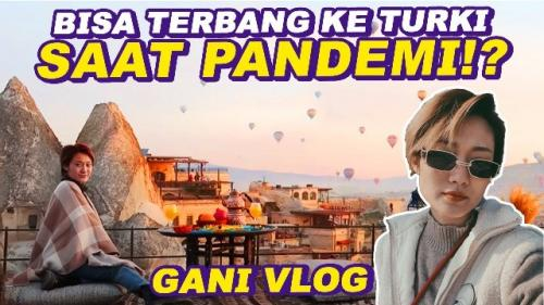 Top model Ayu Gani berbagi keseruan keliling Turki. (Foto: YouTube Ganegani)