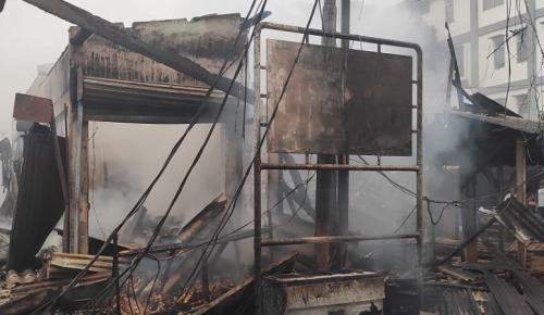 Kebakaran di Tanah Abang (refi sandi)