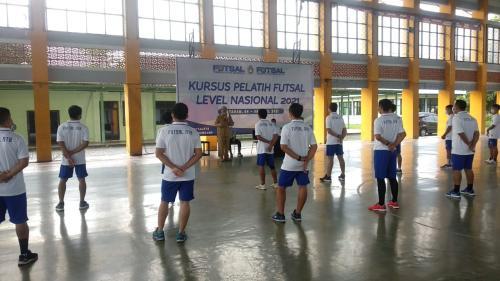 kursus pelatih futsal NTB