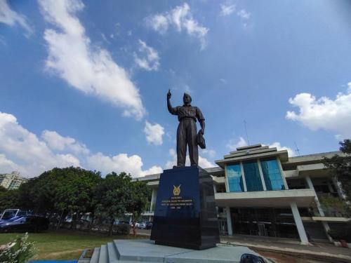 Monumen Abdurachman Saleh.