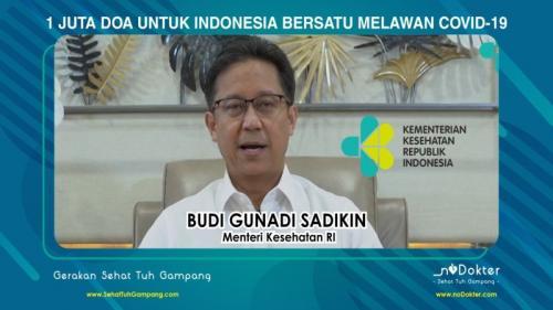 Menkes Budi Gunadi Sadikin (Foto : Istimewa)