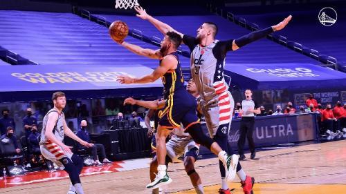 Warriors vs Wizards