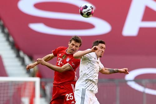 Thomas Muller vs Union Berlin (Foto: Reuters)
