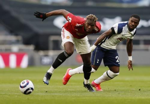 Paul Pogba vs Tottenham Hotspur (Foto: Reuters)