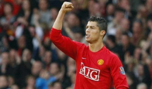 Cristiano Ronaldo saat masih di Man United