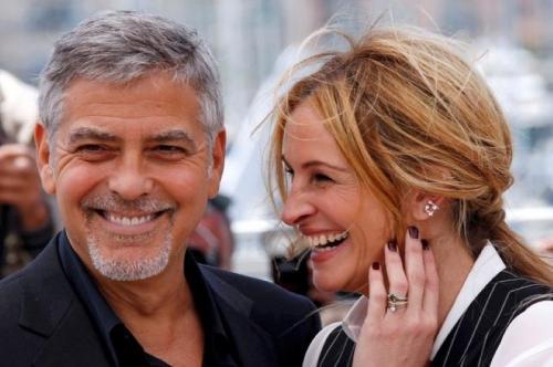 George Clooney dan Julia Roberts. (Foto: Reuters)