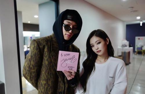 Jennie BLACKPINK dan Seung Yoon WINNER