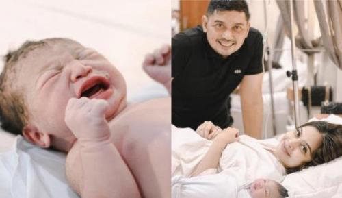 Tiwi eks T2 melahirkan anak kedua. (Foto: Instagram)