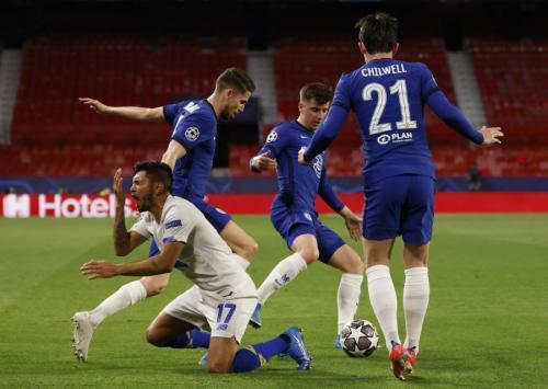 Chelsea vs FC Porto (Foto: Reuters)