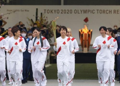 Torch relay Olimpiade Tokyo 2020