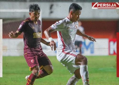 PSM Makassar vs Persija Jakarta (Foto: Twitter/@Persija_Jkt)
