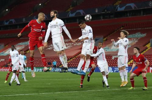 Liverpool vs Real Madrid (Foto: Reuters)