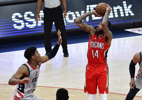 Washington Wizards melawan New Orleans Pelicans