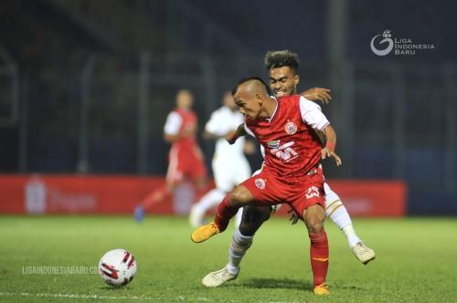 Pertandingan Persija vs PSM di semifinal Piala Menpora 2021