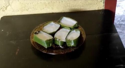 Kue sampan khas Bangka favorit Bung Karno. (Foto: Rizki Ramadhani/iNews TV)