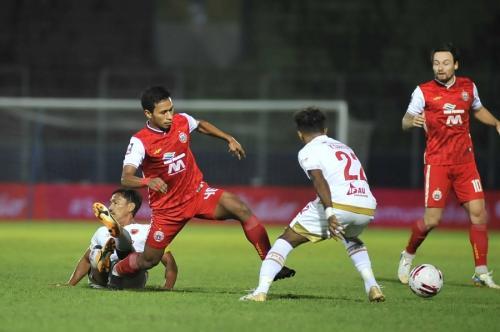 Persija Jakarta vs PSM Makassar (Foto: Liga Indonesia Baru)