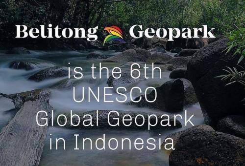 Geopark Belitung Diakui UNESCO
